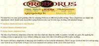 RPG Item: Oroborus Adaptations