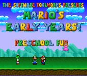 Video Game: Mario's Early Years: Preschool Fun