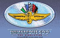 Video Game: Indianapolis 500: The Simulation