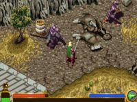 Video Game: The Lord of the Rings: The Two Towers (GBA)