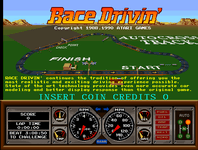 Video Game: Race Drivin'