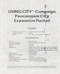 RPG Item: LC6: Living City Campaign Procampur City Expansion Packet