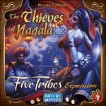 Board Game: Five Tribes: The Thieves of Naqala