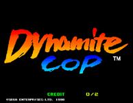 Video Game: Dynamite Cop