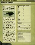 RPG Item: Subject Data A02: Croak
