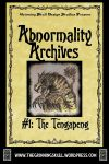 RPG Item: Abnormality Archives #01: The Tengapeng