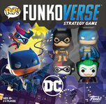 Board Game: Funkoverse Strategy Game: DC Batman 100