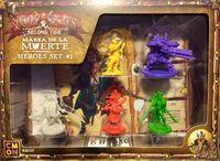 Board Game: Rum & Bones: Second Tide – Marea de la Muerte Heroes Set #1