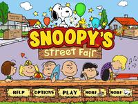 Video Game: Snoopy's Street Fair