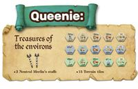 Board Game: Merlin: Queenie 1 – Treasures of the Environs
