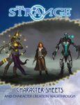 RPG Item: The Strange Character Sheets