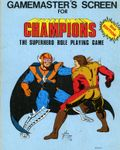 RPG Item: Gamemaster's Screen for Champions (2nd Edition)