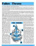 RPG Item: Fallen Throne
