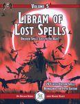 RPG Item: Libram of Lost Spells, Volume 5