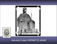 RPG Item: Arcane Class: Hermetic Mage