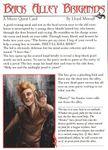 RPG Item: Back Alley Brigands