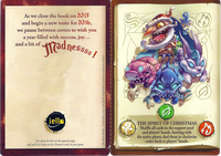 Board Game: The Big Book of Madness: 2016 Greeting Card – Evil Santa