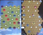 Board Game: Age of Steam Expansion: War in Iraq & New York Subway
