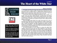 RPG Item: Lost Books 04: The Heart of the White Star