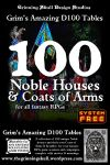 RPG Item: 100 Noble Houses & Coats of Arms for all Fantasy RPGs
