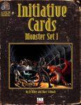 RPG Item: Initiative Cards: Monster Set 1
