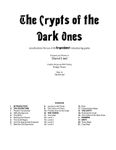 RPG Item: The Crypts of the Dark Ones