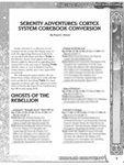 RPG Item: Serenity Adventures: Cortex System Corebook Conversion