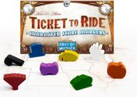 Board Game Accessory: Ticket to Ride: Character Score Markers