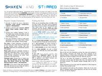 RPG Item: Shaken and Stirred