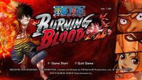 Video Game: One Piece: Burning Blood