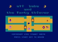 Video Game: Ali Baba and the Forty Thieves