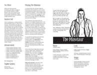 RPG Item: The Minotaur