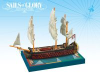 Board Game: Sails of Glory Ship Pack: Montagne 1790 / Commerce de Marseille 1788