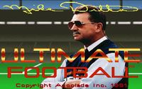 Video Game: Mike Ditka's Ultimate Football