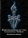 RPG Item: Brotherhood of the Celestial Torch Recruitment Manual