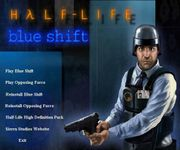 Video Game: HλLF-LIFE: Blue Shift