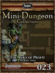 RPG Item: Mini-Dungeon Collection 023: The Aura of Profit (Pathfinder)