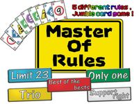 Board Game: Master of Rules
