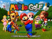 Video Game: Mario Golf
