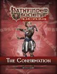 RPG Item: Pathfinder Society Scenario 5-08: The Confirmation