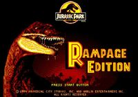 Video Game: Jurassic Park: Rampage Edition