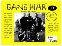 Board Game: Gang War