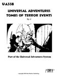 RPG Item: UA33B: Universal Adventures Tombs of Terror Events