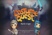 Video Game: Costume Quest