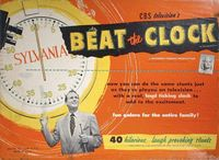 Board Game: Beat the Clock Game