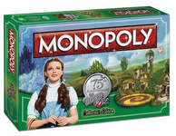 Board Game: Monopoly: Wizard of Oz 75th Anniversary Collector's Edition