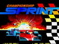 Video Game: Championship Sprint