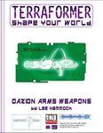 RPG Item: Terraformer #03: Daxion Arms Weapons