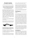 RPG Item: The Circle of Columns