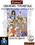 RPG Item: Extras!: Unusual Townfolk (5E)